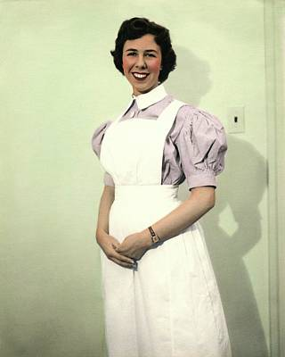 Helene Photograph - Nurse From London by National Library Of Medicine