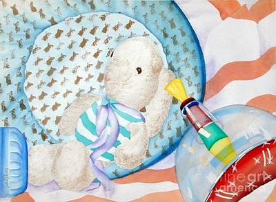 Nursery  Original by Carla Jo Bryant