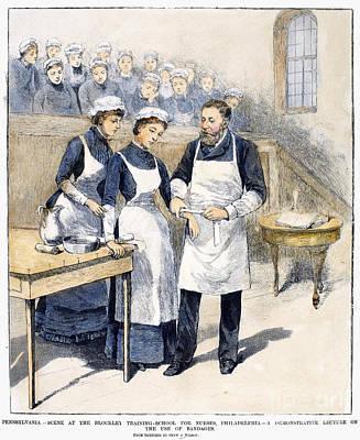 Nursing School, 1885 Art Print