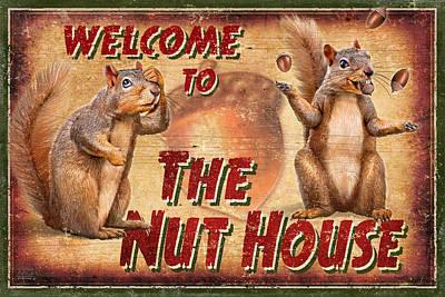 Nut House 2 Art Print by JQ Licensing