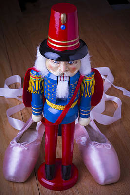 Nutcracker And Ballet Shoes Art Print by Garry Gay