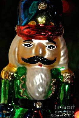 Photograph - Nutcracker Ornament by Susan Herber