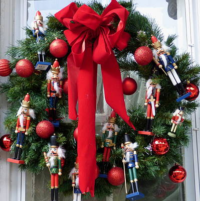 Photograph - Nutcracker Wreath by Jean Wright