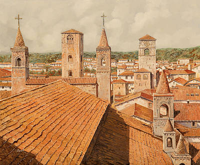 Alba Print by Guido Borelli