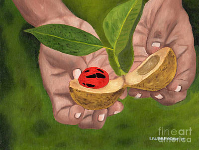 Painting - Nutmeg In Hand by Laura Forde
