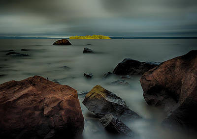 Animal Watercolors Juan Bosco - Nuttall Island Last Sunlight by Jakub Sisak