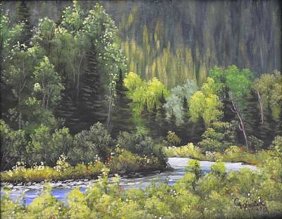 Painting - Nw Branch Old Man River by Cindy Welsh