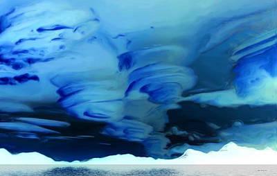 N.w.t. Storms Art Print by Wayne Bonney