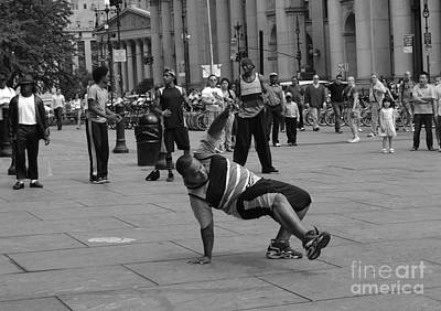 Photograph - Ny City Street Performer by Angela DeFrias
