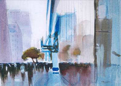 Painting - Nyny by Ed  Heaton