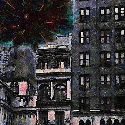 Painting - New York Explo by RC DeWinter