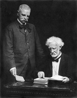 Ny Jurist John W. Goff Art Print by Underwood Archives