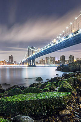 Bridge Photograph - Ny Ny by Anthony Fields