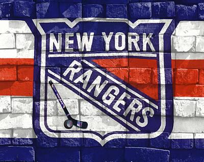 Ny Rangers-2 Art Print