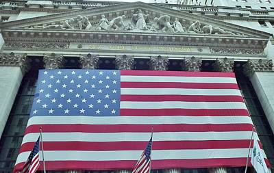 Photograph - Ny Stock Exchange by John Wartman