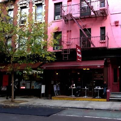 Digital Art - Ny Streets - Cafe Borgia II Soho by Gabriel T Toro