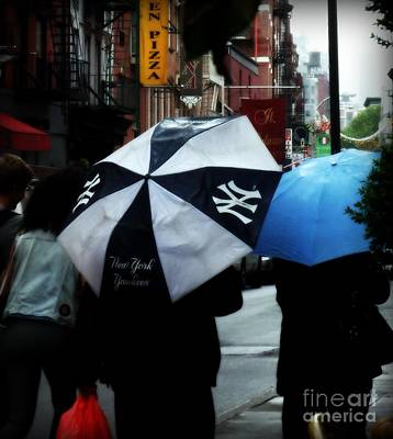 Photograph - Ny Yankees Little Italy by Miriam Danar