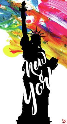 Liberty Painting - Ny2 by Bomo