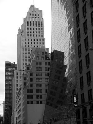 Photograph - Nyc - Reflections On The Architecture by Richard Reeve