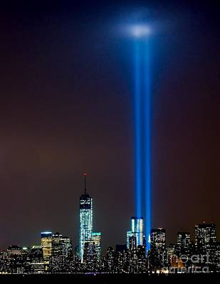 Photograph - Nyc 9/11 Tribute by Nick Zelinsky