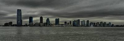 River Photograph - Nyc - Battery Park - Jersey City by Lance Vaughn