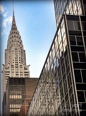 Photograph - Nyc Chrysler Building by Susan Garren