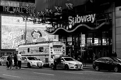 NYC Art Print by Diane Tisseur Groovy Lens Photographic Art