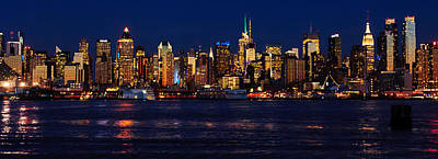 Awesome Photograph - Nyc Extra-wide Panorama by Mitchell R Grosky
