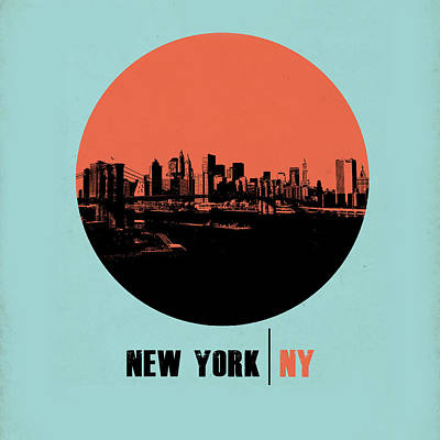 Nyc Gallery Cover Art Print by Naxart Studio
