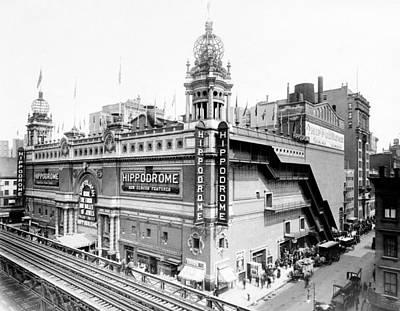 Nyc, Hippodrome Theatre, 1910 Art Print