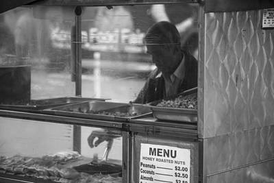 Hot Dogs Photograph - Nyc Hot Dog Vendor by John McGraw