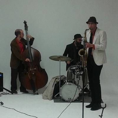 Jazz Photograph - Nyc Jazz Trio #jazz #instacool by Christopher M Moll