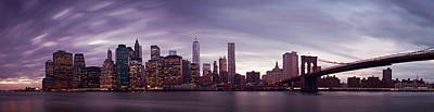Nyc Panorama Art Print