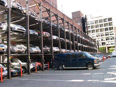 Photograph - Nyc Parking by Art Photography
