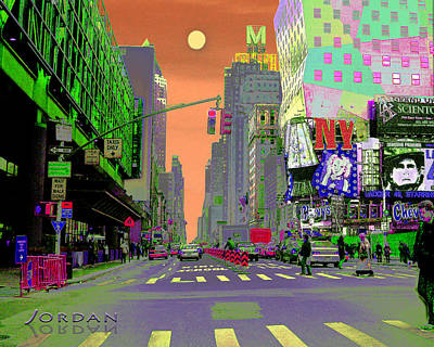 Carnegie Museum Photograph - Nyc Port Authority And 42nd by David Jordan