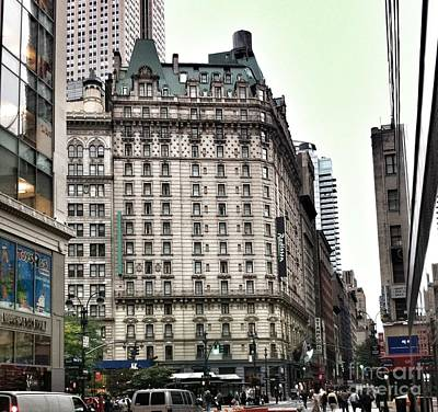 Photograph - Nyc Radisson Hotel by Susan Garren