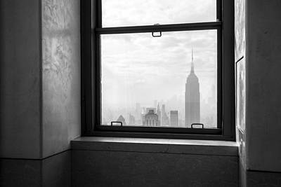 Nyc Room With A View Print by Nina Papiorek