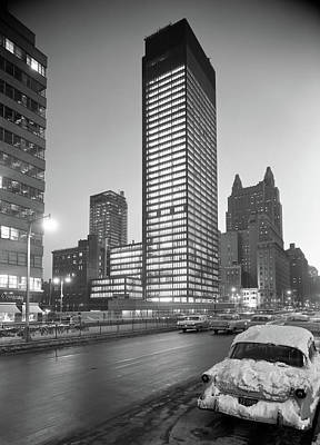 Seagram Photograph - Nyc Seagram Building, 1958 by Granger