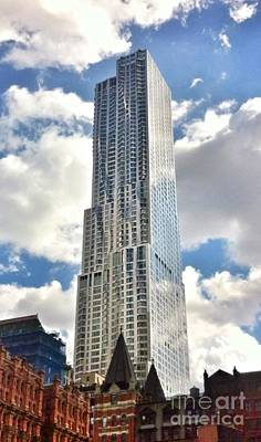 Photograph - Nyc Silver Tower by Susan Garren