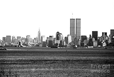 Photograph - Nyc Skyline 1990s by John Rizzuto