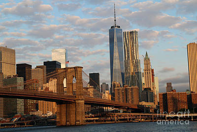 Photograph - Nyc Skyline In The Morning by Steven Spak