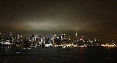 Nyc Skyline Art Print by Roque Rodriguez