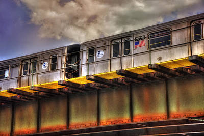 Photograph - Nyc Subway by Joann Vitali