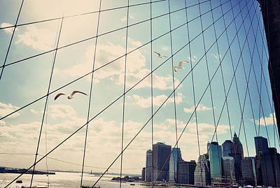 Photograph - Nyc Tic Tac Toe by Emily Stauring