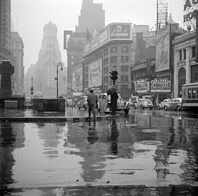 Nyc, Times Square, 1943 Art Print