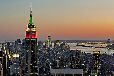 United States Of America Photograph - Nyc Top Of The Rock by Susan Candelario