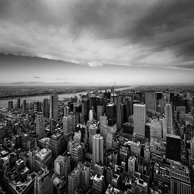 Nyc Skyline Photograph - Nyc Uptown by Nina Papiorek