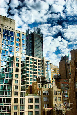 Cloud Photograph - Nyc Urban Hdr by Amy Cicconi