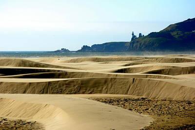 Nye Dunes Art Print by Mamie Gunning