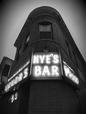 Photograph - Nye's In Black And White by Heidi Hermes